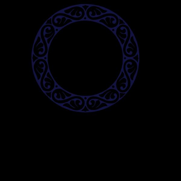 M Circle Blue PNG Clip art