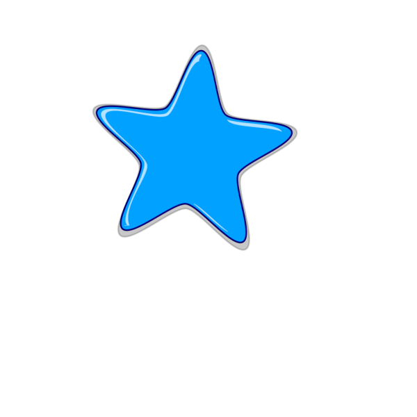 Blue Star Edited2 PNG Clip art