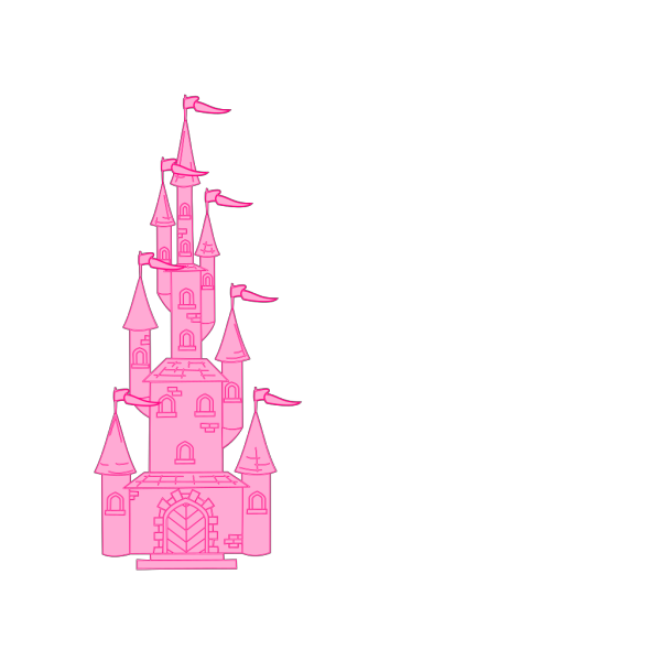 Cartoon Castle PNG images