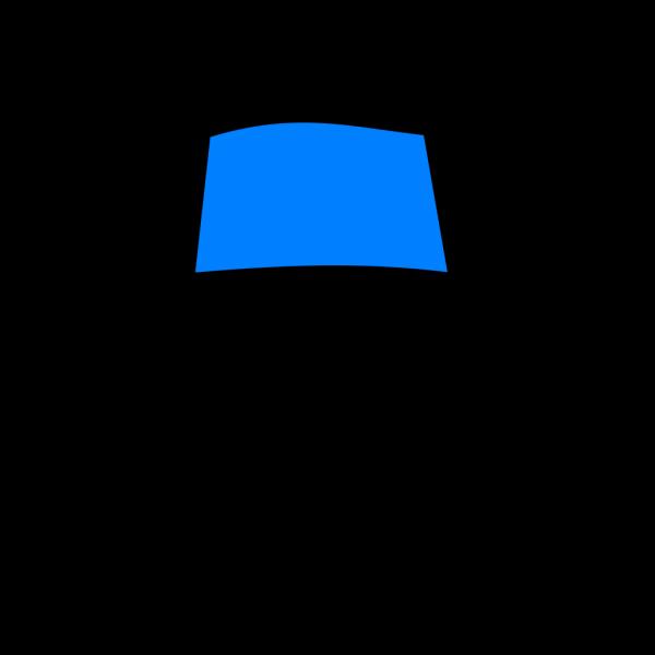 Glue Bottle Top Blue PNG images