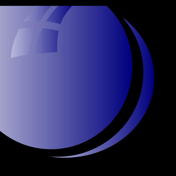 Blue Bubbles Fun PNG Clip art