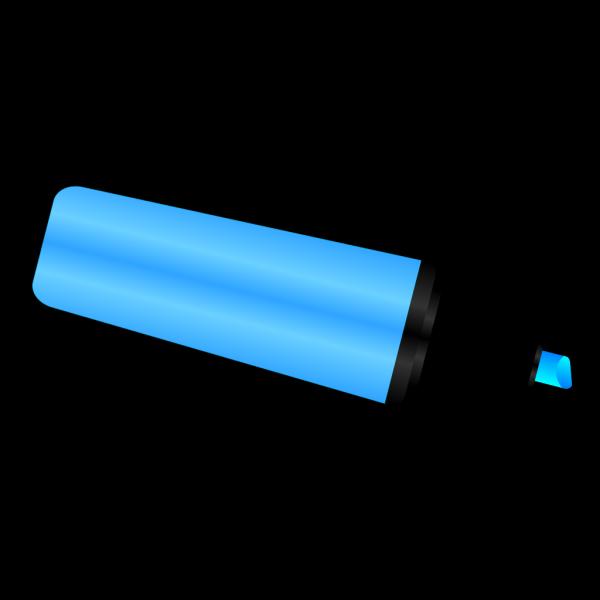 Blue Highlighter Marker PNG Clip art