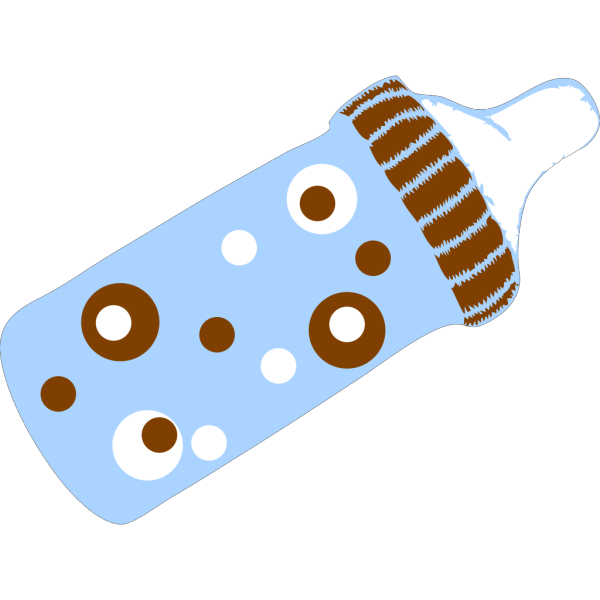 Dotted Bottle2 PNG Clip art