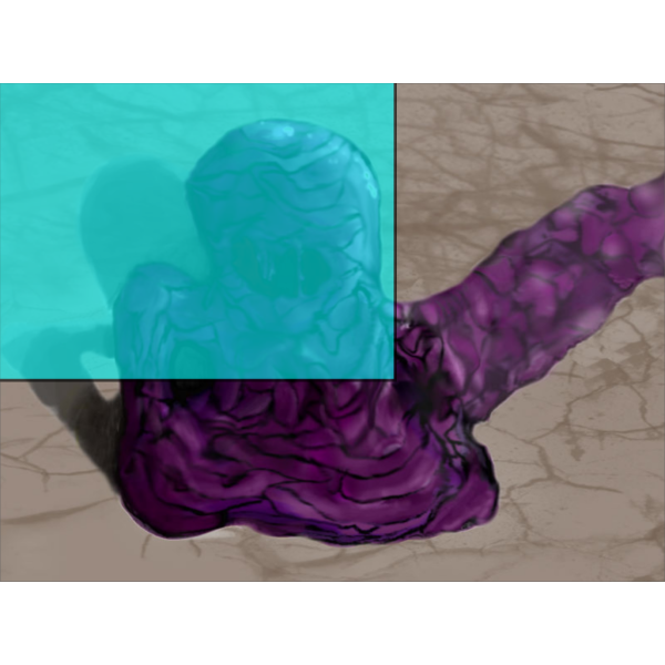 Blue Sludge PNG Clip art