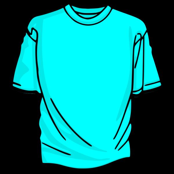 Blank T-shirt Light Blue PNG Clip art