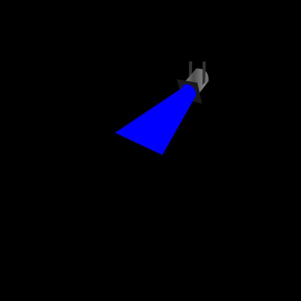 Spot Light Blue PNG Clip art