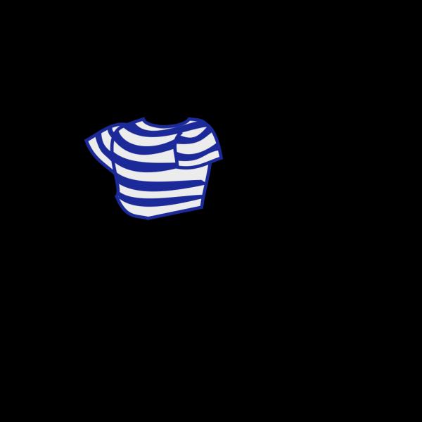 Striped Shirt PNG Clip art