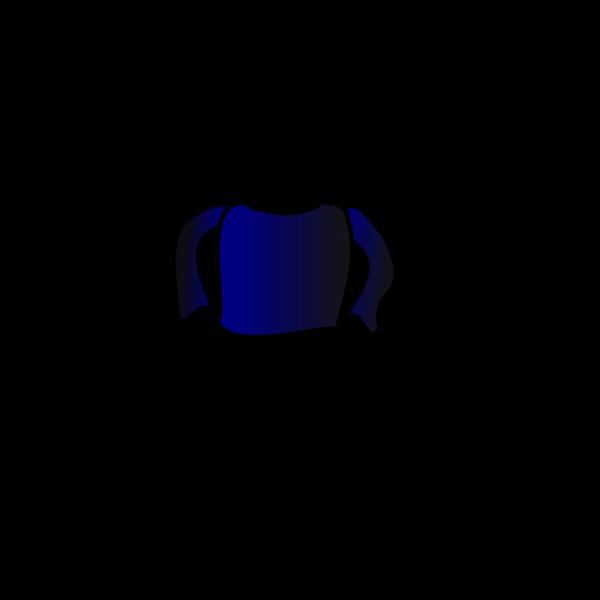 Blue Long Sleeve Shirt PNG Clip art
