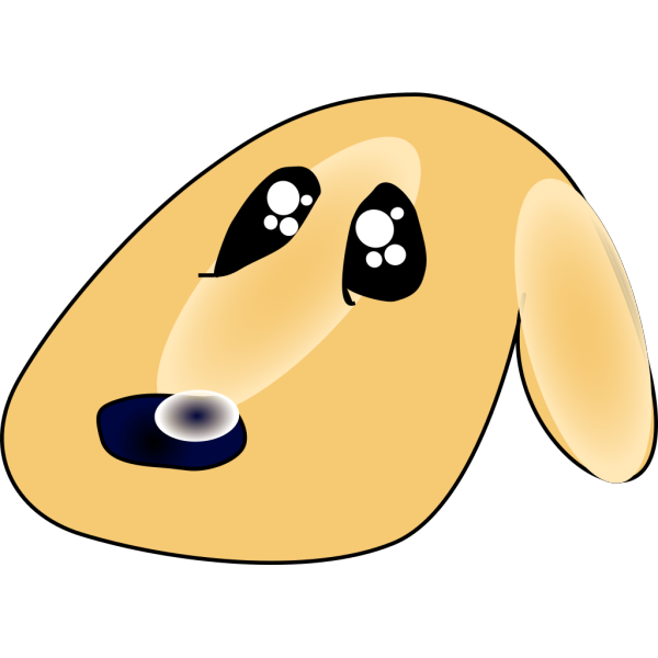 Ericlemerdy Cute Sad Dog PNG Clip art