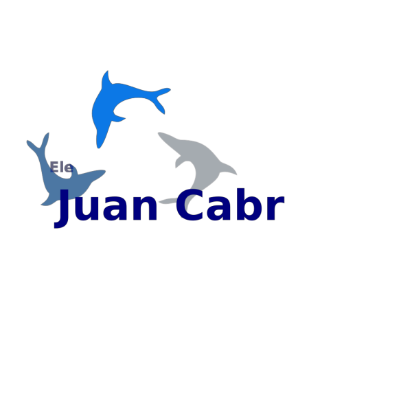 Blue Dolphins Fade PNG Clip art