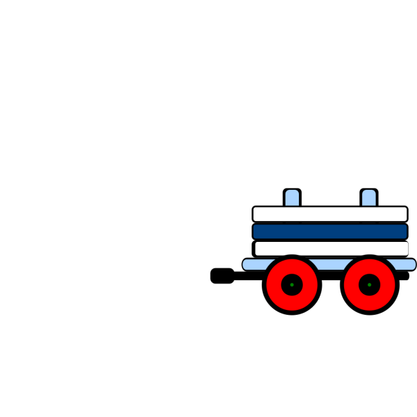 Toot Toot Train Carriage PNG Clip art