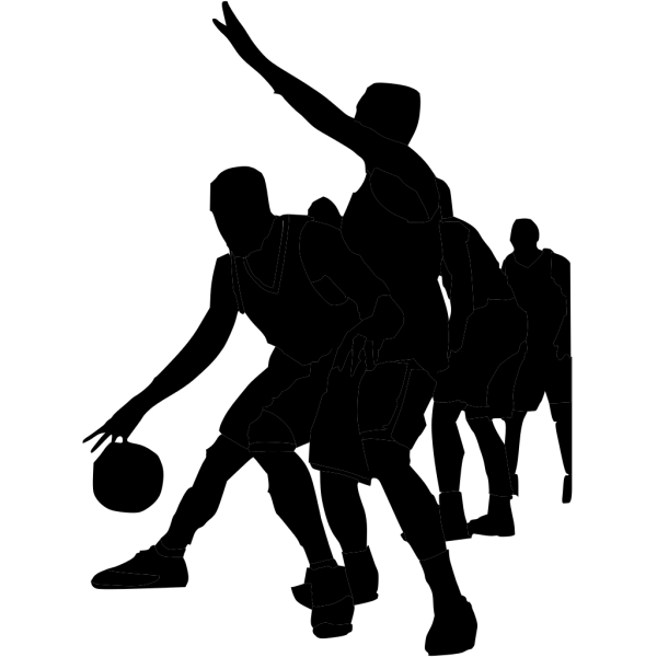 Grey Blue Basketball PNG Clip art