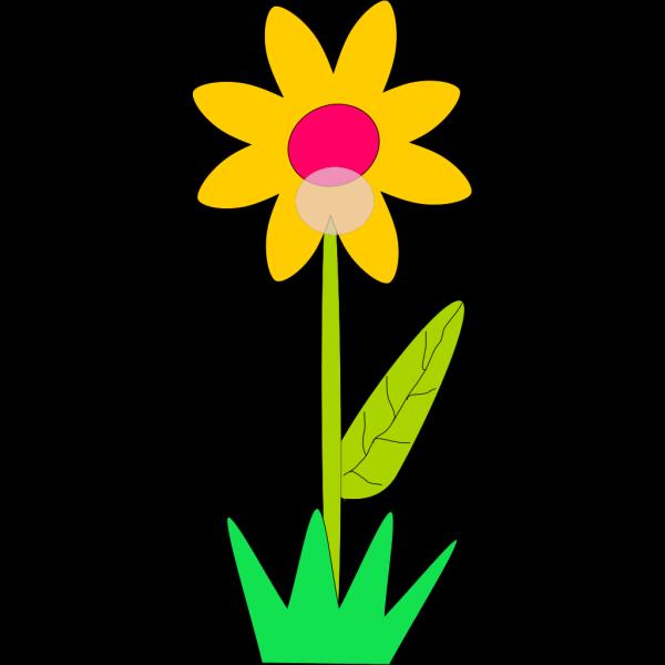 Blue Spring Flower PNG Clip art