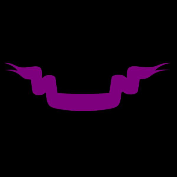 Blue Ribbon Banner PNG Clip art