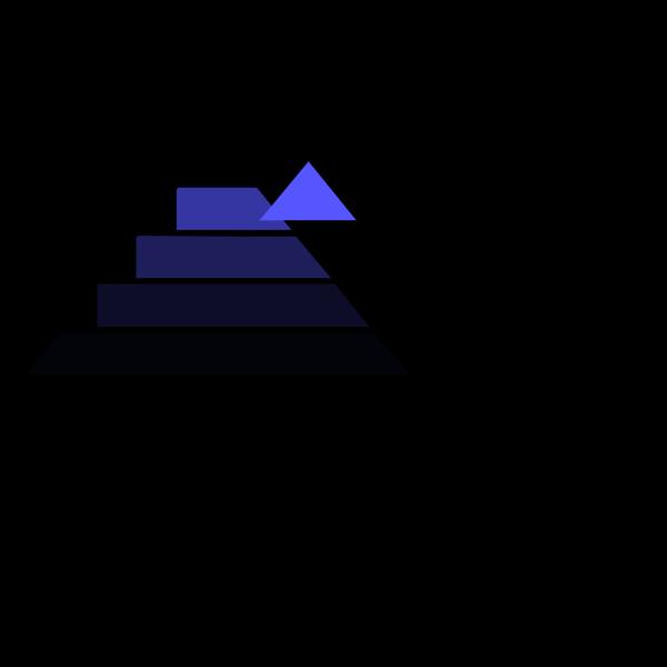 Importance Pyramid PNG Clip art