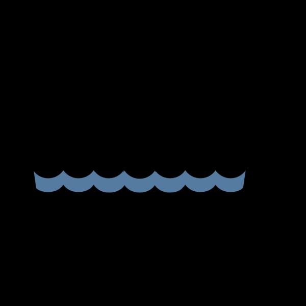 Wave Pattern Oceana PNG Clip art