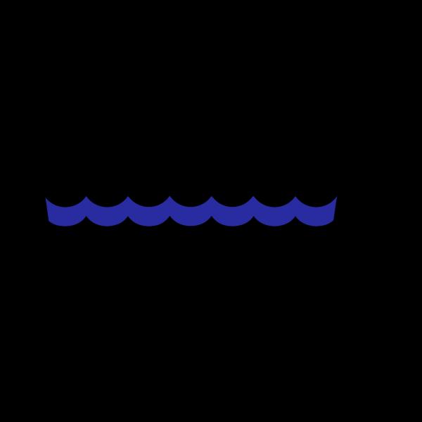 Wave Pattern Oceana2 PNG Clip art