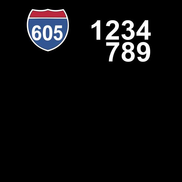 605 Freeway PNG Clip art