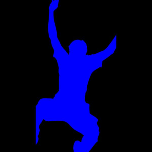 Blue Jumper PNG Clip art