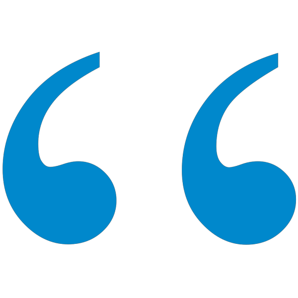 Blue1 Quote Mark PNG images