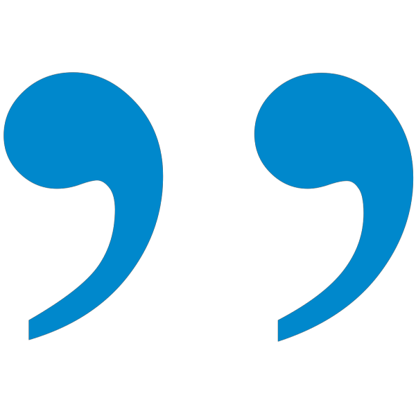 Blue2 Quote Mark PNG Clip art