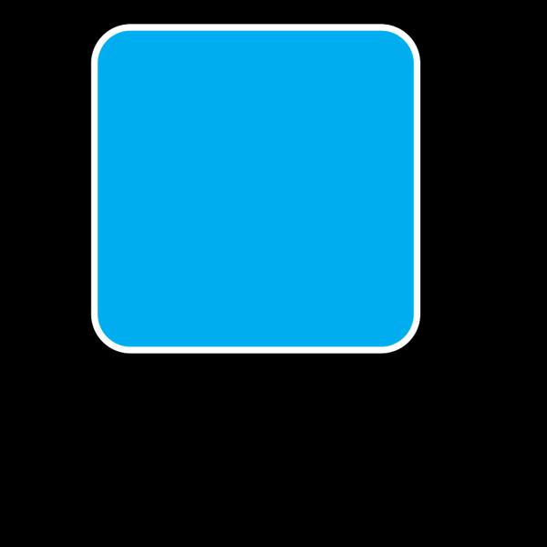 Blue Bg Icon PNG Clip art