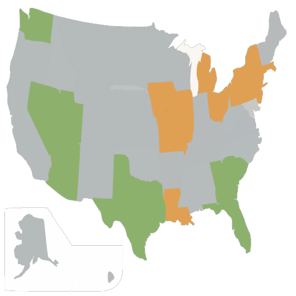 Blue Usa Map  PNG Clip art