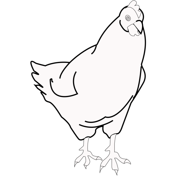 Blue Chicken PNG Clip art