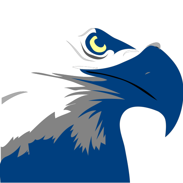 Blue Eagle Logo PNG Clip art