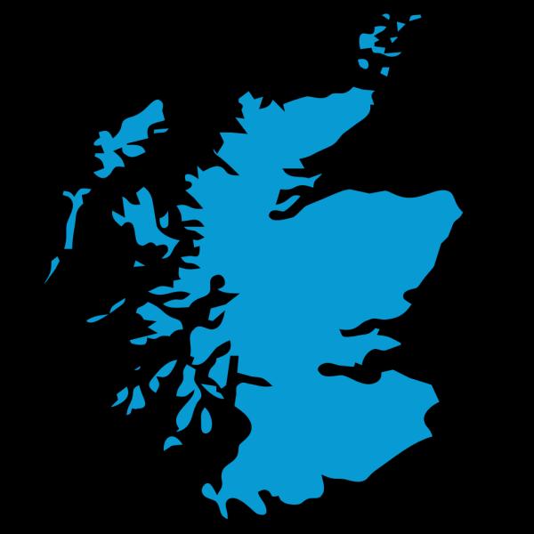 Blue Scotland PNG Clip art