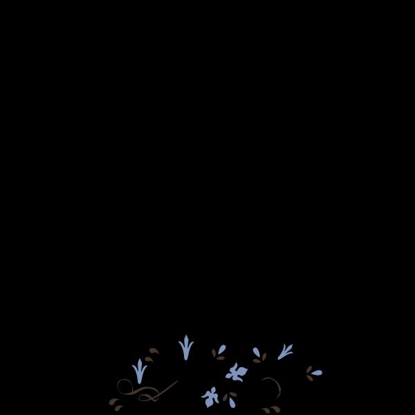 Flower Border PNG Clip art