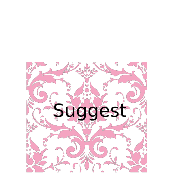 Pink Damask PNG clipart
