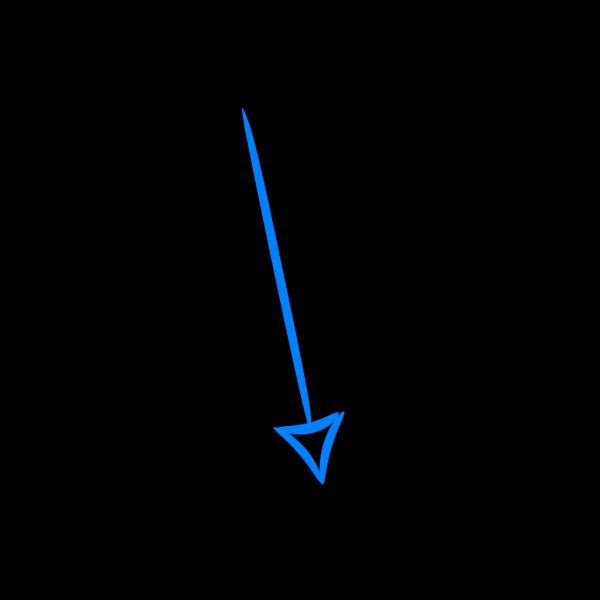 Blue Arrow PNG Clip art