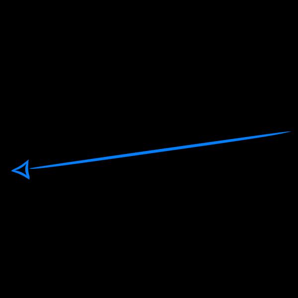 Blue Arrow PNG clipart