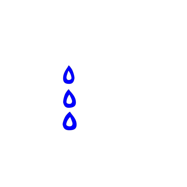 Falling Blue Tears PNG images