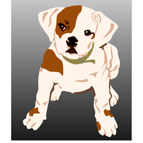 Bulldog Puppy PNG icons