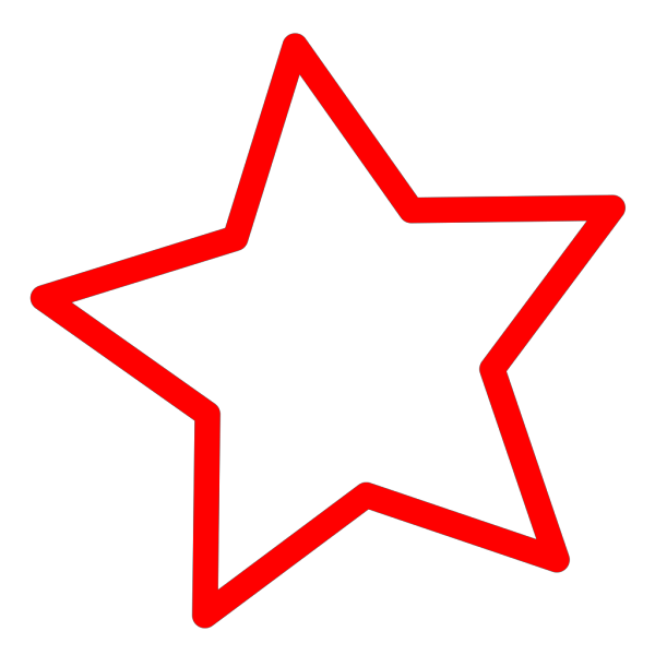 Round Thai Star PNG icons