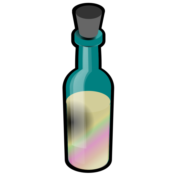 Bottle Of Colored Sand PNG images