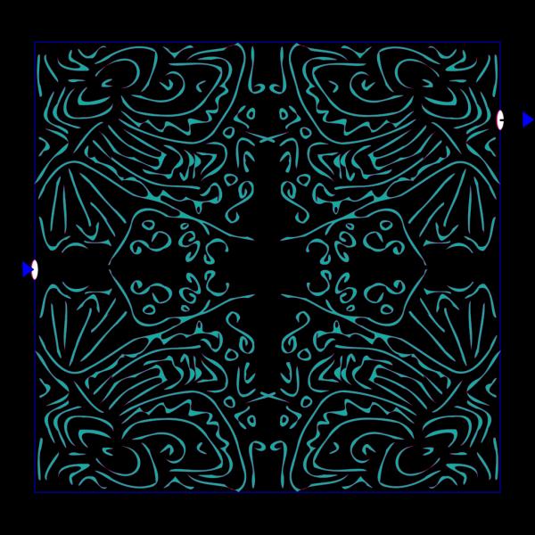 Labyrinth Pattern PNG Clip art