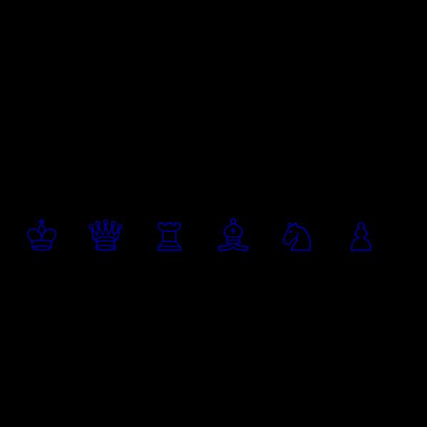 Blue Symbols  PNG Clip art