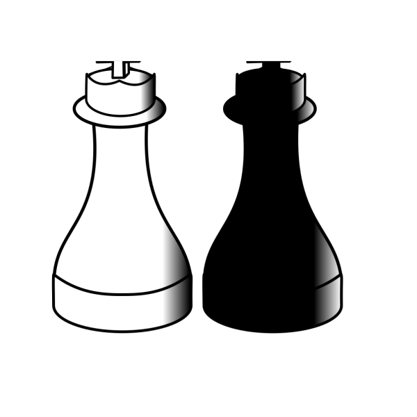 Blue Chess Pieces PNG Clip art
