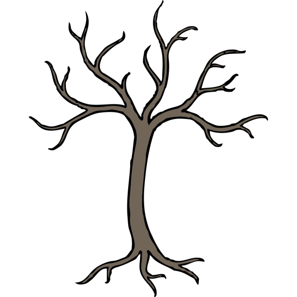 Blue Dead Tree PNG icons