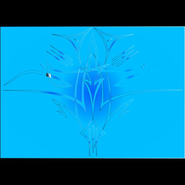 Pinstripe-blue PNG Clip art