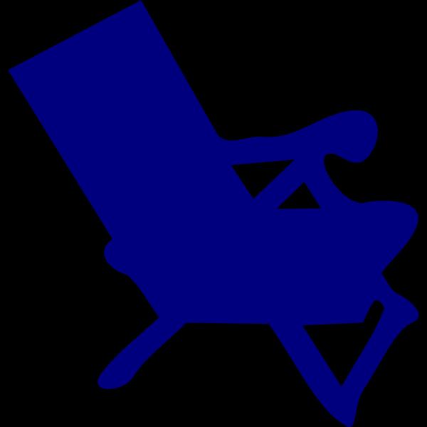 Blue Chair PNG Clip art