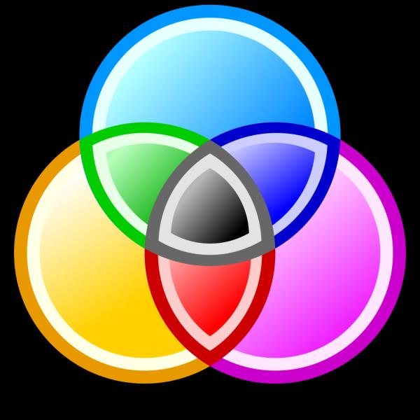 Circles Blue Orange Concentric PNG Clip art