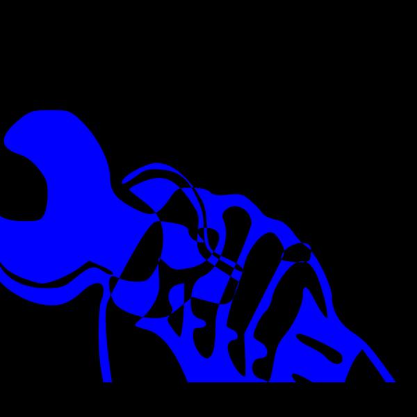 Blue Fist PNG images