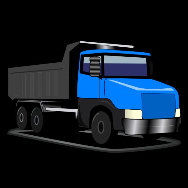 Blue Truck PNG Clip art