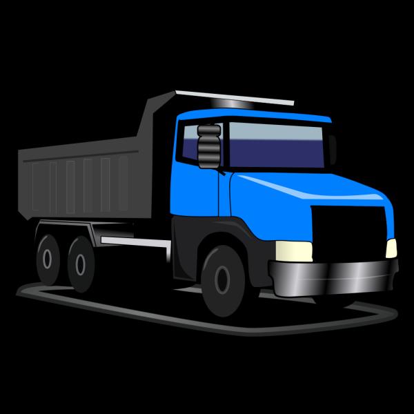 Blue Truck Revised PNG Clip art