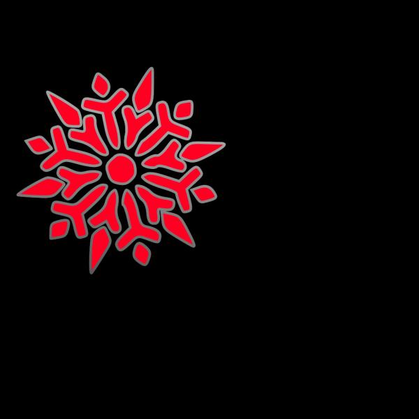 Snowflake Kaleidoscope PNG images