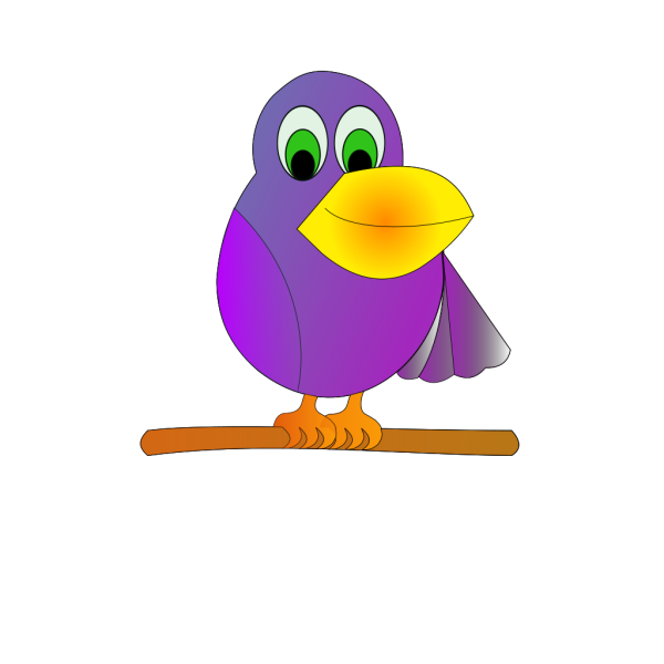 Mr Parrot clipart